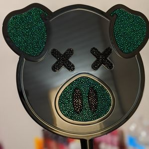 JSC/ SD black pig bling mirror